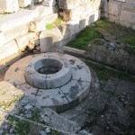 The Kallichoron / Well of Fair Dances existed from earliest time