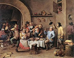 250px-David_Teniers_(II)_-_Twelfth-night_(The_King_Drinks)_-_WGA22083